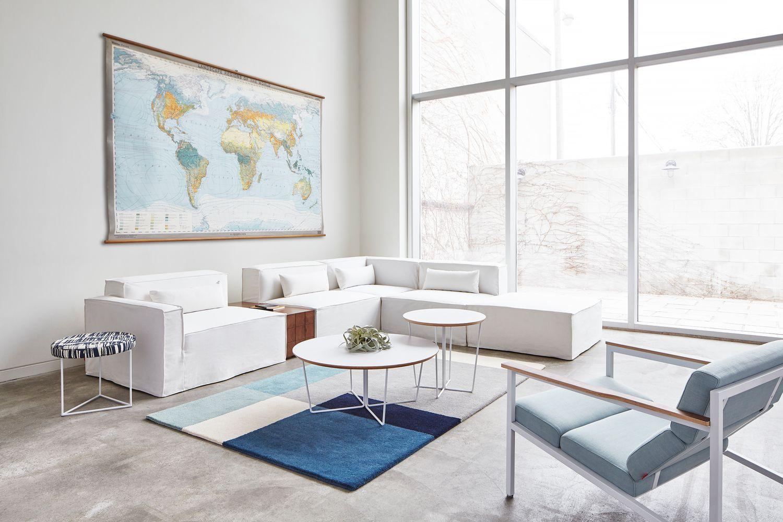 Gus Modern - Mix Modular Sofa + Halifax Chair